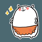 A Kansaiben-speaking rabbit