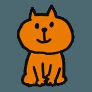 red tabby cat, named Tama