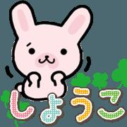 Ham-Usa for Shoko