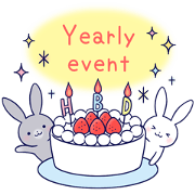 Lovey-dovey rabbit [yearly event ver]