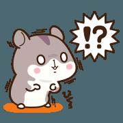 Dzungarian hamster Sticker