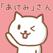 Cat for AKEMI
