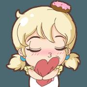 Chu Chu Angel - Donut Emoji
