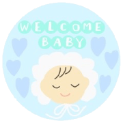 BABY BOY sticker
