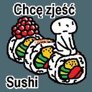 (波蘭語)這裡有你想吃的壽司嗎?