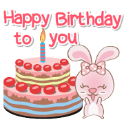 Rabbito (ta) Happy Birthday 2017