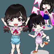 Harajuku system Yale cute girls Brazil