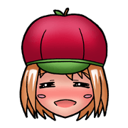 Kippi the Apple Maniac Girl...