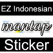 EZ Indonesian Sticker - Sachet