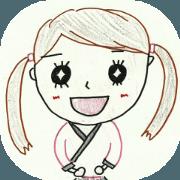 Sato Chisato Official Sticker