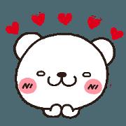 白熊的基本配備貼圖2 戀愛的心