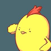 Weird Chicken Animated 3