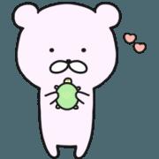 pink bear,PINKUMA