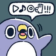 懶得鳥你♪胖企鵝
