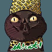 蛋頭的貓插畫貼圖3