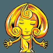 The goddess of gold