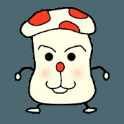 Weather Mushroom Sticker