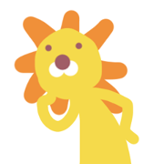Lion who is not motivated