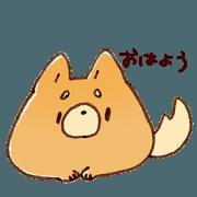 Shibababa sticker.