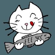 Sticker made by Grandma(Cat)