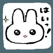 It is a rabbit.2