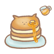 Pancake of the cat type