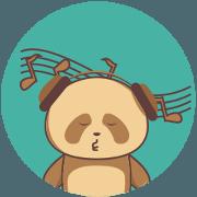 Cute Brown Panda v.2