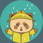 Cute Brown Panda v.3