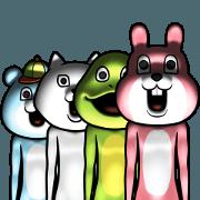 Dear animal costume 5