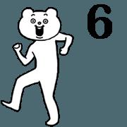 賤萌地激烈擺動身體★賤萌熊6