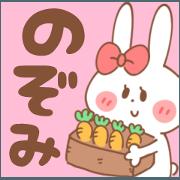 NOZOMI-Sticker