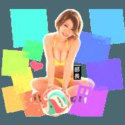 Stickers of Madam Reina.