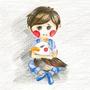 不吃蔬菜的男孩