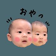 Hinata & Hiiro Stamp