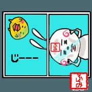 Sticker for humi