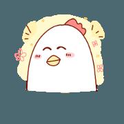 delicious cute chicken