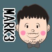 Mark's Sticker (Mark / Marc / Masa) 3