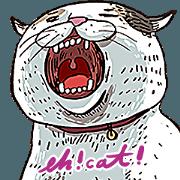 蛋頭的貓插畫貼圖4