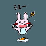freedom rabbit Pyonkichi