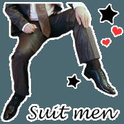 喜歡西裝男的鞋襪日常