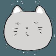 面無表情的貓