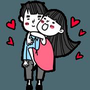女朋友的貼圖庫part2[甜蜜日常]