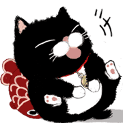 Black bean cat -IN03