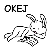 (瑞典語)愛理不理的兔