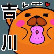 Stickers from Yoshikawa with love