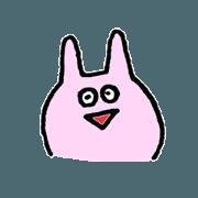 *rabbit face*