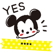 Disney Tsum Tsum 隨你填貼圖