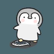 Relax penguin Korean