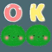 animation!! spherical moss.