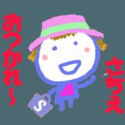 Sticker of Sachie